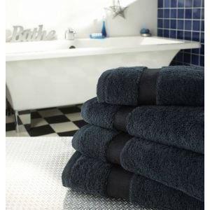 decotex decs3bk supreme grand drap de bain coton d 39 gypte peign noir 90 x 170 cm achat. Black Bedroom Furniture Sets. Home Design Ideas