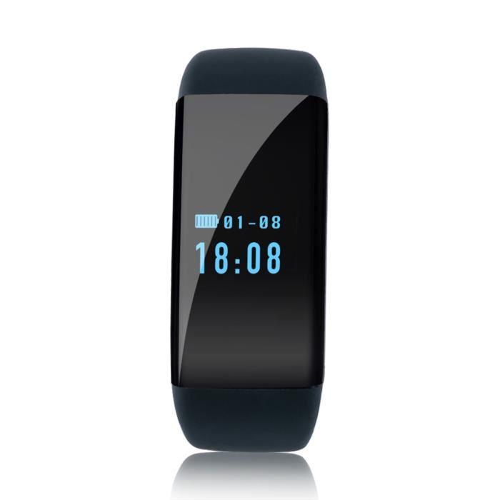 diggro dfit bracelet connect rythme cardiaque cran oled etanche ip68 p dom tre pour android et. Black Bedroom Furniture Sets. Home Design Ideas