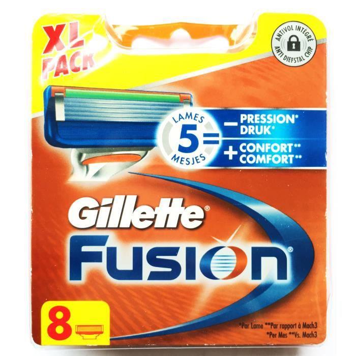 gillette fusion 8 lames achat vente lame de rasoir seule gillette fusion 8 lames au meilleur. Black Bedroom Furniture Sets. Home Design Ideas