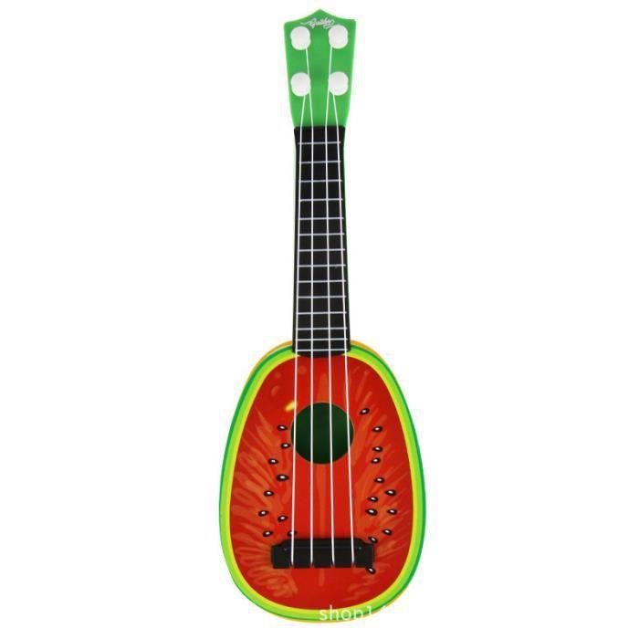 guitare mini fruit jouets d 39 instruments de musique pour enfants achat vente instrument de. Black Bedroom Furniture Sets. Home Design Ideas