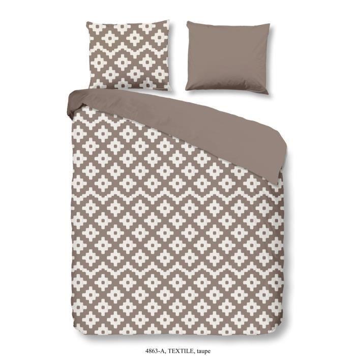 good morning parure de couette textile 100 coton 1 housse de couette 200x200 cm 2 taies d. Black Bedroom Furniture Sets. Home Design Ideas