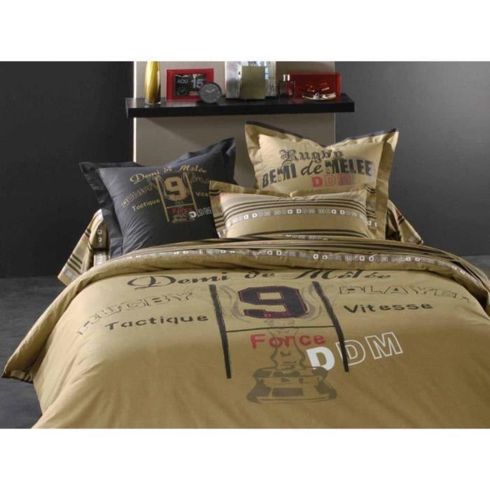 parure housse de couette demi de melee cup achat vente parure de couette cdiscount. Black Bedroom Furniture Sets. Home Design Ideas