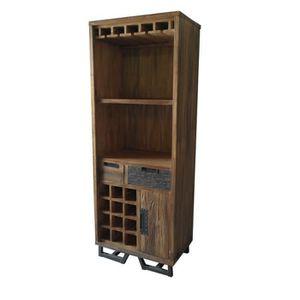 meuble bar en bois achat vente meuble bar en bois pas cher cdiscount. Black Bedroom Furniture Sets. Home Design Ideas