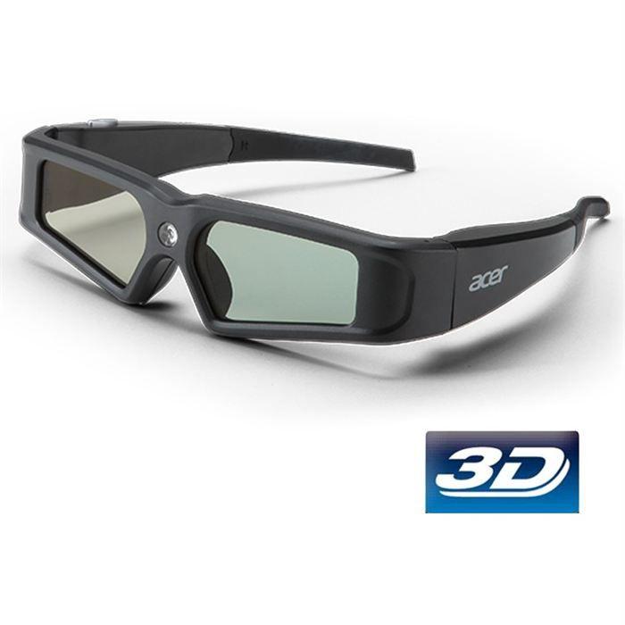 Lunettes 3D pour vidéoprojecteurs - Technologie: 3D DLP Link ...