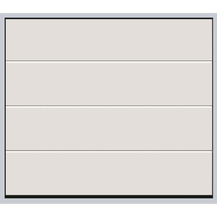 Porte Sectionnelle Standard Blanc H 2000 X L 2400 Achat Vente Porte De Garage Porte