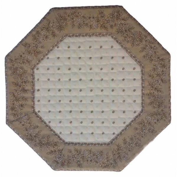 Set de table octogonal exclusif cru beige cadr achat - Set de table lavable en machine ...