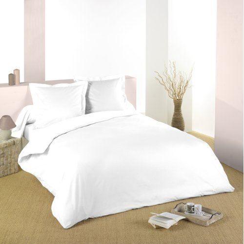 Taie d 39 oreiller 50x70 cm 100 coton forme sac g achat - Housse de couette noir et blanche ...