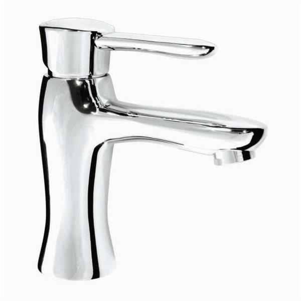 mitigeur de lavabo moderne en laiton chrome robinet design pour vasque achat vente. Black Bedroom Furniture Sets. Home Design Ideas