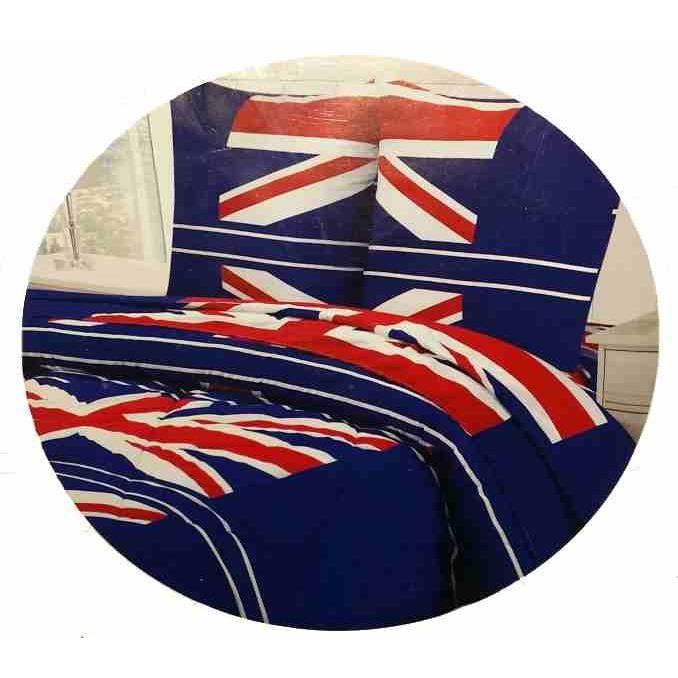 parure de lit couette 2p drapeau union jack achat. Black Bedroom Furniture Sets. Home Design Ideas