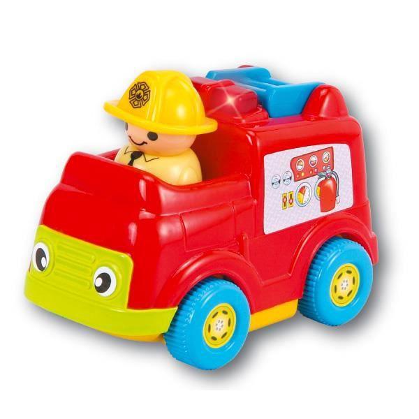 voiture r trofriction pompier achat vente voiture camion cadeaux de no l cdiscount. Black Bedroom Furniture Sets. Home Design Ideas