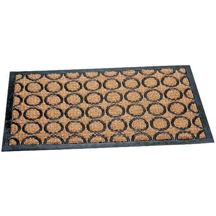 tapis coco et caoutchouc combi dim 40 x 60 cm achat. Black Bedroom Furniture Sets. Home Design Ideas
