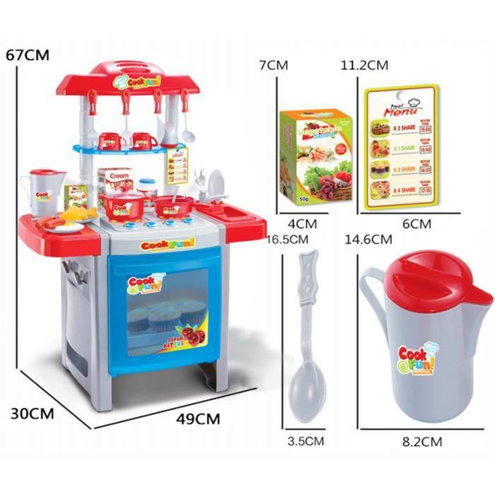 Jouets pour enfants simulation cuisine jouets achat - Jouet cuisine pour enfant ...