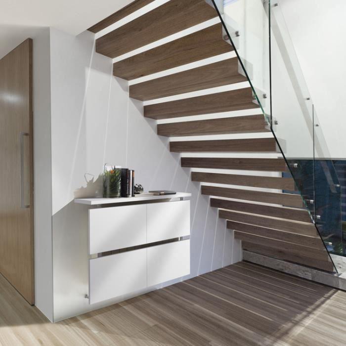 cache radiateur 90 coloris blanc l90 x h71 x p achat. Black Bedroom Furniture Sets. Home Design Ideas