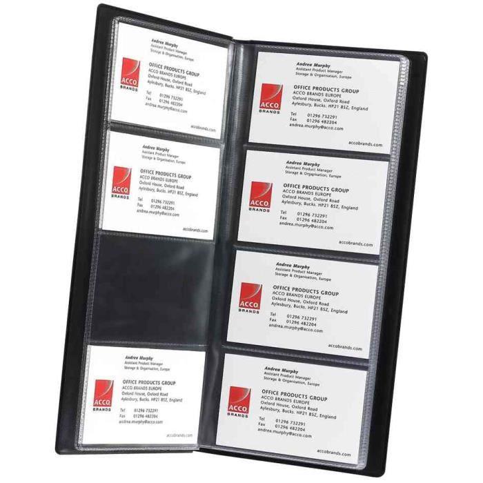 classeur anneaux pour cartes de visite professi achat vente distributeur de carte classeur. Black Bedroom Furniture Sets. Home Design Ideas