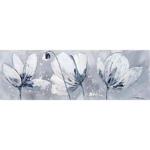 Tableau toile fleurs achat vente tableau toile fleurs - Toile peinte pas cher ...