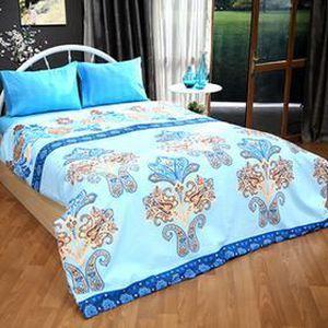 parure de lit une place achat vente parure de lit une place pas cher cdiscount. Black Bedroom Furniture Sets. Home Design Ideas