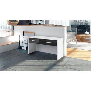 meuble console en metal noir achat vente meuble. Black Bedroom Furniture Sets. Home Design Ideas