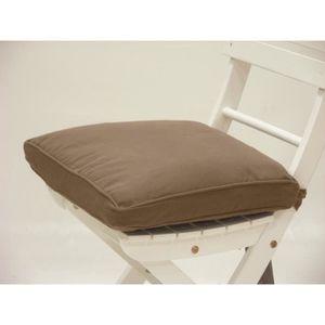housse galette de chaise achat vente housse galette de chaise pas cher cdiscount. Black Bedroom Furniture Sets. Home Design Ideas