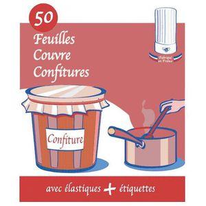 BOCAUX Cellophane couvre confiture - Vendu par 50
