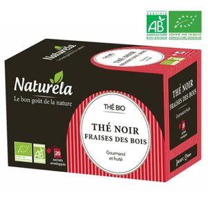 THÉ Naturela Thé Noir Fraises des Bois Bio