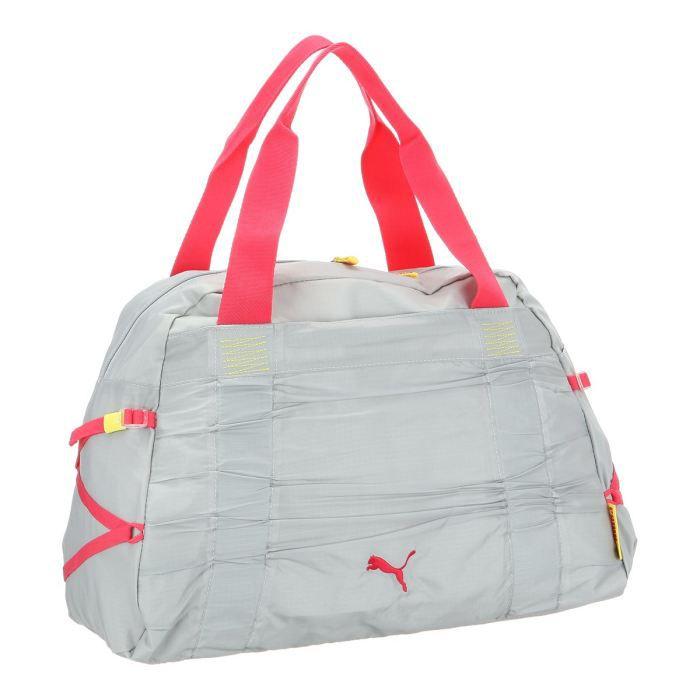 puma sac de sport ou we femme gris et rose achat vente sac bowling 4051411537933 cdiscount. Black Bedroom Furniture Sets. Home Design Ideas