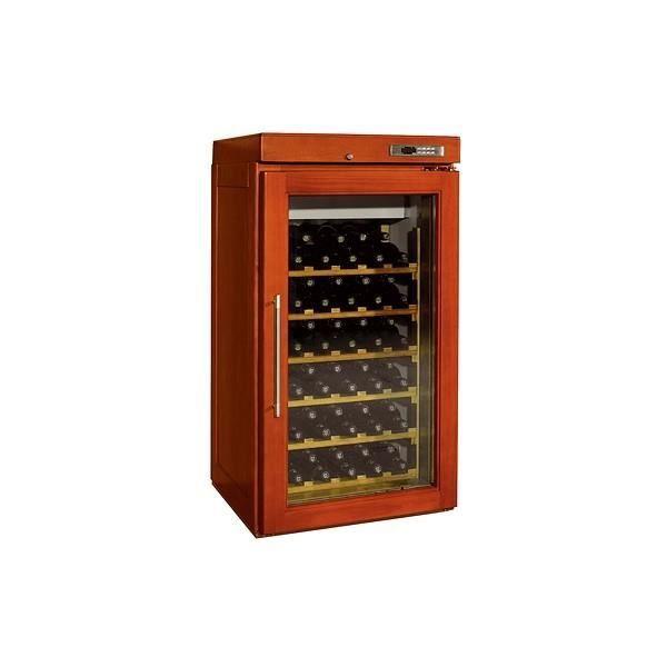 Armoire vin professionnelle 1 porte vitr e 200 litres 150w 220v a - Cave a vin double porte ...