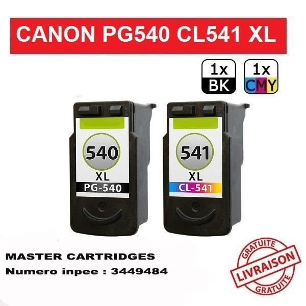 canon pixma mg3500 mg3550 mg4150 mg4250 pack cartouche g n rique compatible master cartridges. Black Bedroom Furniture Sets. Home Design Ideas