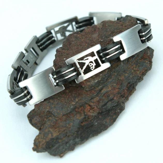 bracelet acier homme signe zodiaque balance brsz1 achat vente bracelet gourmette bracelet. Black Bedroom Furniture Sets. Home Design Ideas