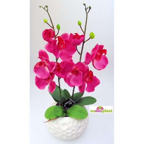 composition d 39 orchid es artificielles coupe b achat. Black Bedroom Furniture Sets. Home Design Ideas