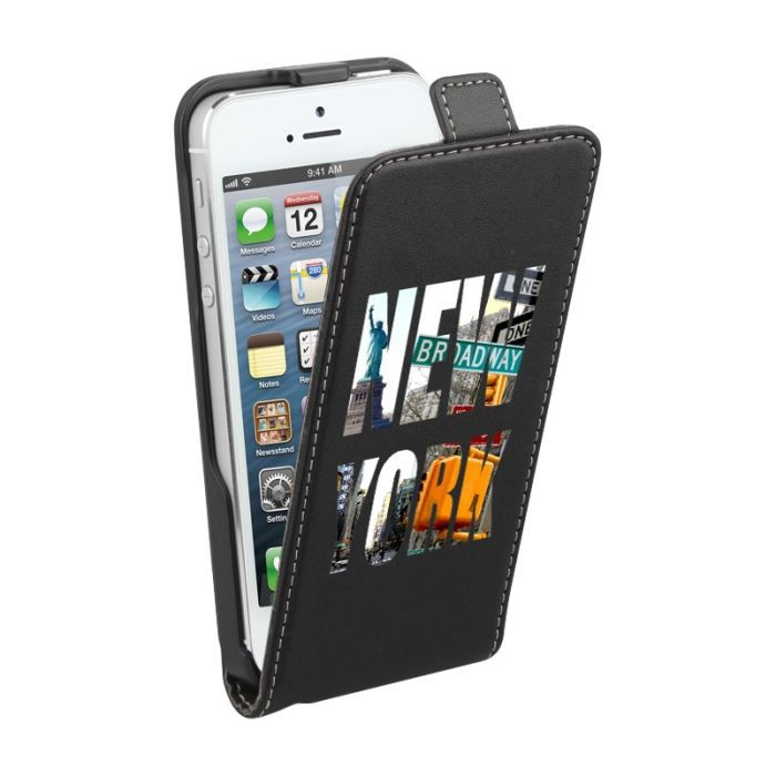 Housse de protection iphone 5 5s new york achat for Housse iphone 5s