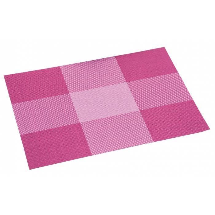 set de table nuances de violet pvc achat vente set. Black Bedroom Furniture Sets. Home Design Ideas