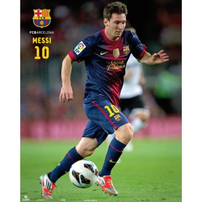 miniposter fc barcelone messi achat vente affiche cdiscount. Black Bedroom Furniture Sets. Home Design Ideas
