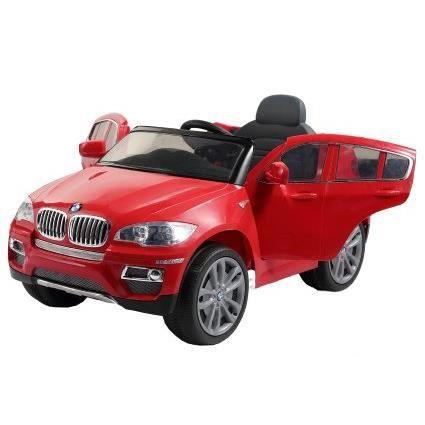 voiture lectrique pour enfant 4x4 bmw x6 achat vente voiture enfant cdiscount. Black Bedroom Furniture Sets. Home Design Ideas