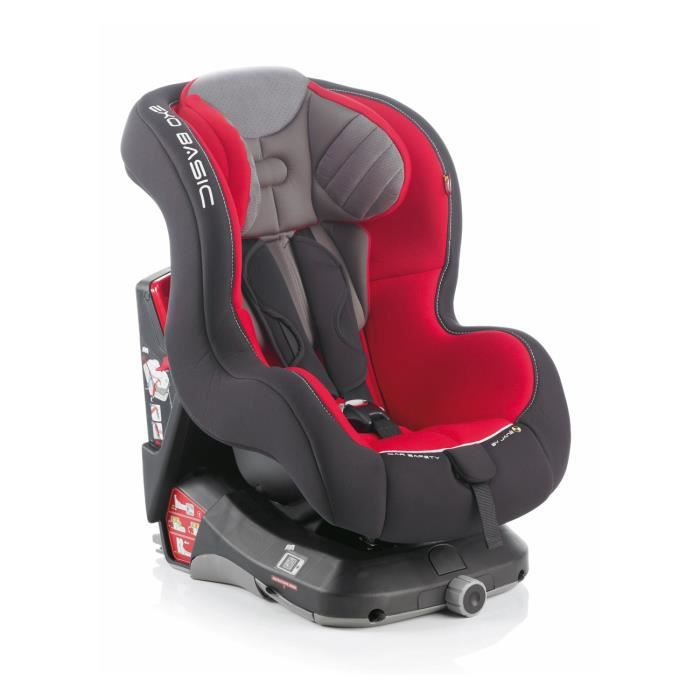Jan exo basic isofix r30 burnt red achat vente for Siege auto simple