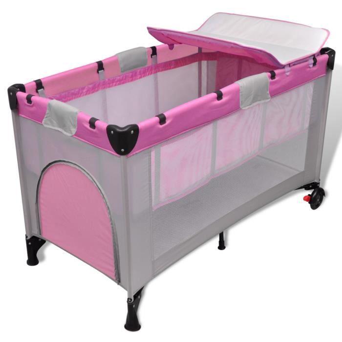 Berceau lit pour b b transportable et pliable achat vente lit b b 87184 - Cdiscount berceau bebe ...