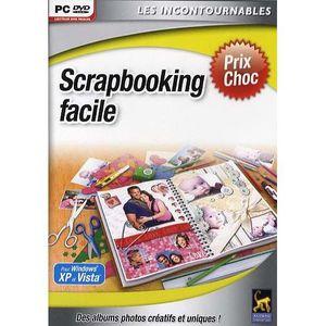 JEU PC SCRAPBOOKING FACILE / LOGICIEL PC DVD-ROM