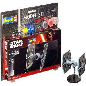 STAR WARS Model Set TIE Fighter Maquette ? Construire, ? Coller et ? Peindre, Avec Accessoires