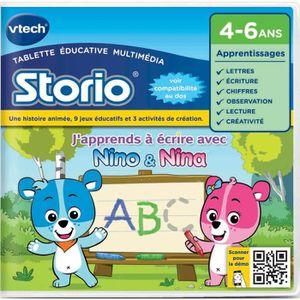 VTECH Jeu Storio J'Apprends A Ecrire
