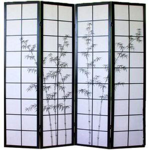 paravent japonais achat vente paravent japonais pas cher les soldes sur cdiscount cdiscount. Black Bedroom Furniture Sets. Home Design Ideas