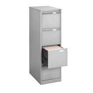 Classeur monobloc 4 tiroirs achat vente classeur for Meuble classement tiroir