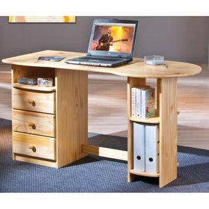 bureau marron achat vente bureau marron pas cher les soldes sur cdiscount cdiscount. Black Bedroom Furniture Sets. Home Design Ideas