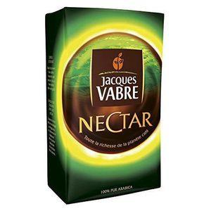 CAFÉ - CHICORÉE Jacques Vabre Café Nectar 250g - Lot de 4