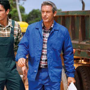 VESTE PROFESSIONNELLE Lot de 2 vestes de travail polyester coton EXCE...