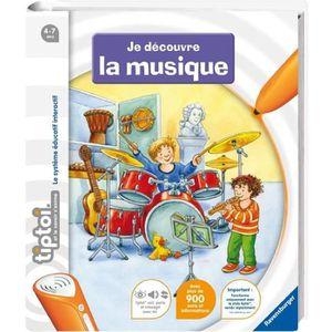 LIVRE INTERACTIF RAVENSBURGER Tiptoi® Livre - Je découvre La Musiqu