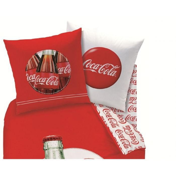 coca cola drap housse 90 x 190 cm assorti achat vente drap housse cdiscount. Black Bedroom Furniture Sets. Home Design Ideas