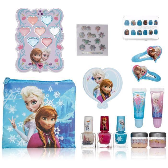 trousse de maquillage la reine des neiges achat vente coiffeur esth tique cdiscount. Black Bedroom Furniture Sets. Home Design Ideas