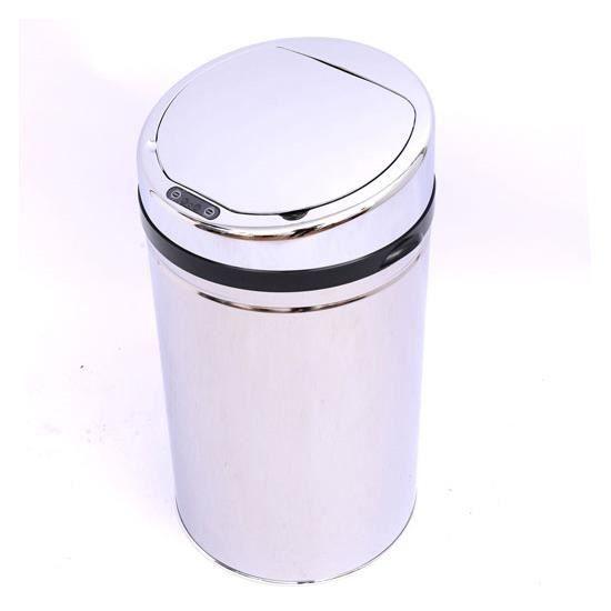 Poubelle automatique cuisine bureau capteur en aci achat - Poubelle cuisine ouverture automatique ...