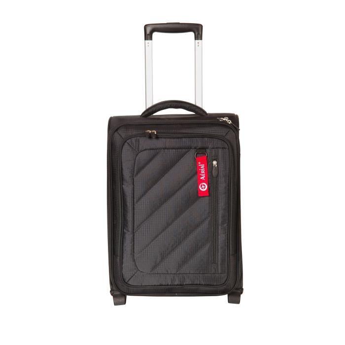 horizon valise cabine souple 2 roues 50cm aerial business noir noir achat vente valise. Black Bedroom Furniture Sets. Home Design Ideas