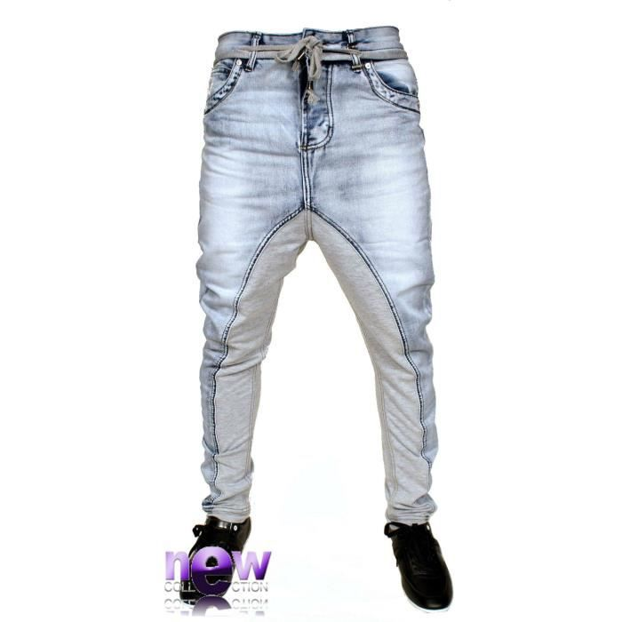 SAROUEL JEAN HOMME MEN NEUF BLEU Achat / Vente jeans SAROUEL JEAN sarouel jean homme men