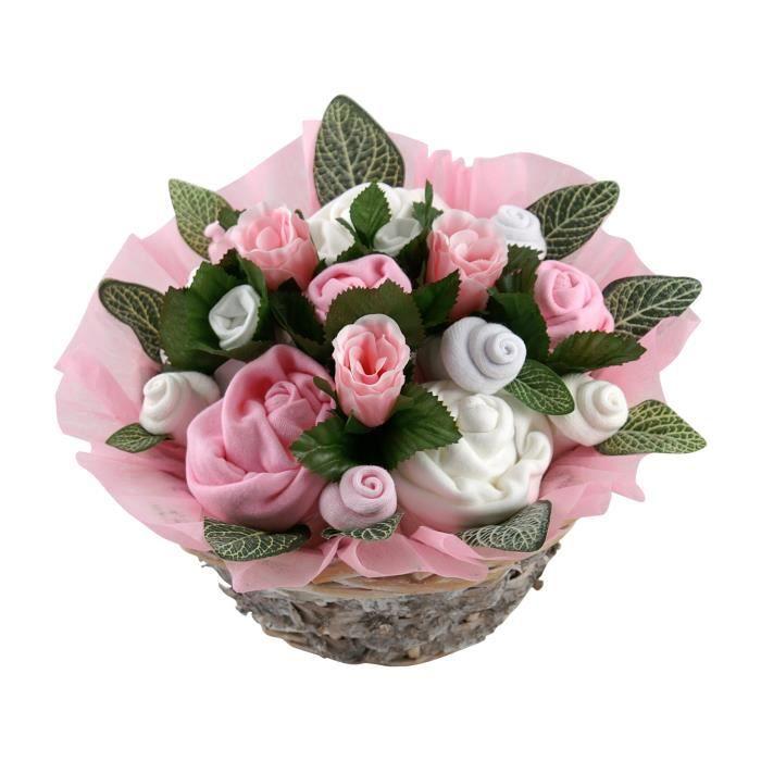 V tements de b b bouquet cadeau pour une nouvelle maman for Bouquet cadeau